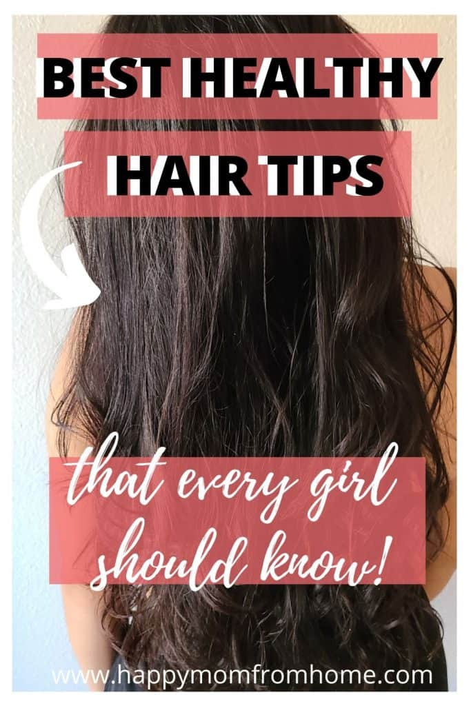 healthy hair tips that every girl should know, long hair, how to have a healthy hair