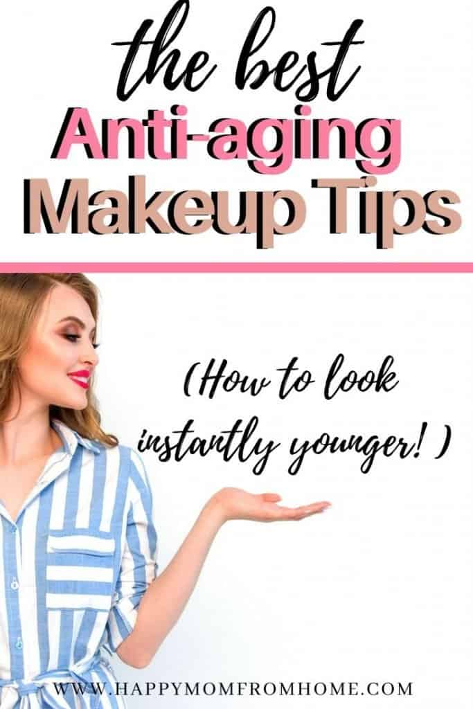 best antiaging makeup tips, hoe to look younger, how to hide wrinkles