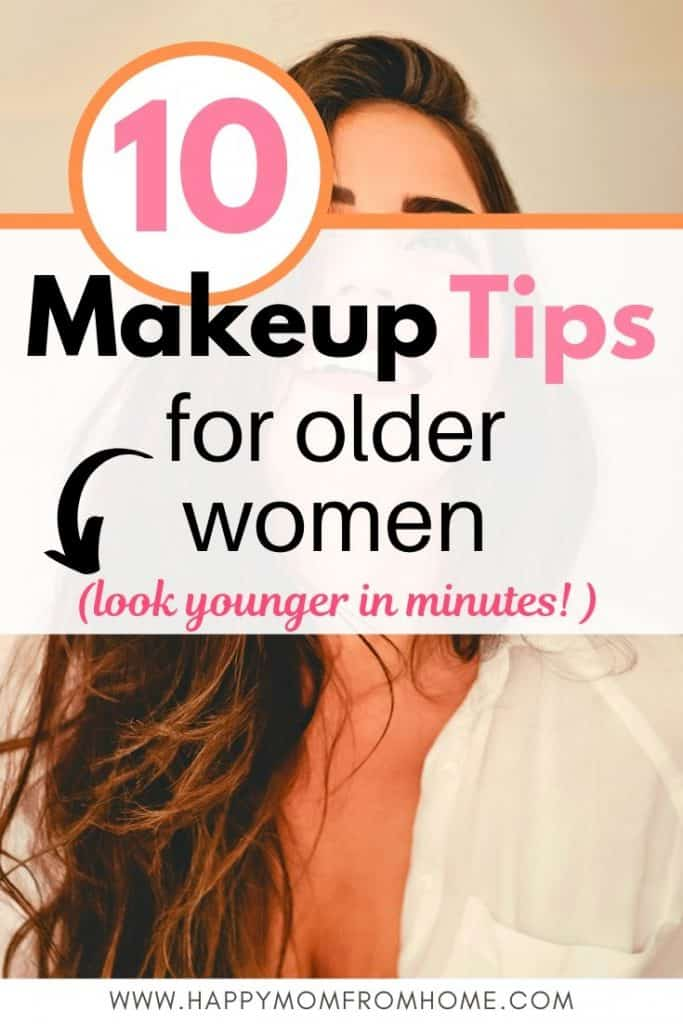 10 makeup tips for older women, how to apply makeup to mature skin, how to look younger in minutes