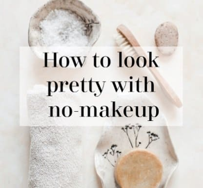 how to be naturally pretty