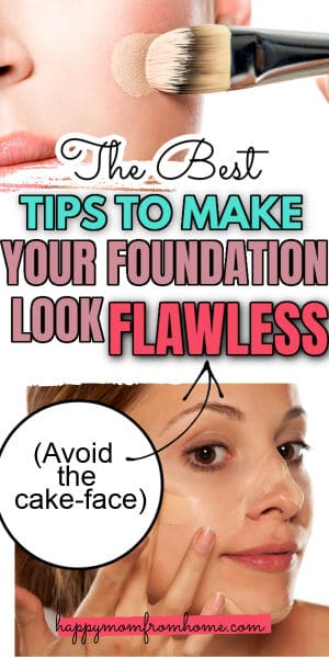 The best tips to make your foundation look flawless, how to avoid the cake-face