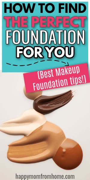 How to apply foundation hoe to find the perfect foundation for you, makeup tips