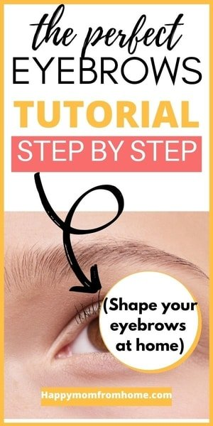 Perfect eyebrows tutorial How to shape your eyebrows, Eyebrow shapes, how to fill in eyebrows, makeup for eyebrows