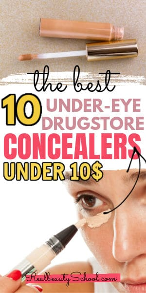 Best affordable under eye concealer drugstore cheap makeup