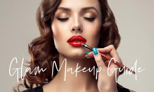 Glam makeup look tutorial