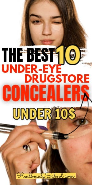 Best cheap under eye concealers affordable drugstore