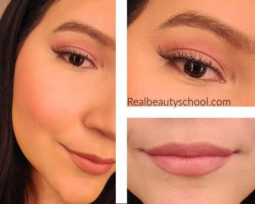 Glam winter makeup look tutorial