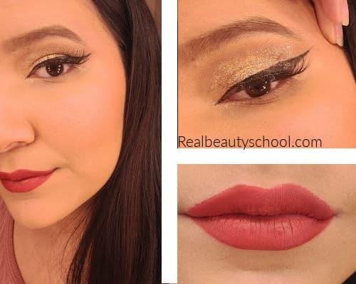 new years makeup look