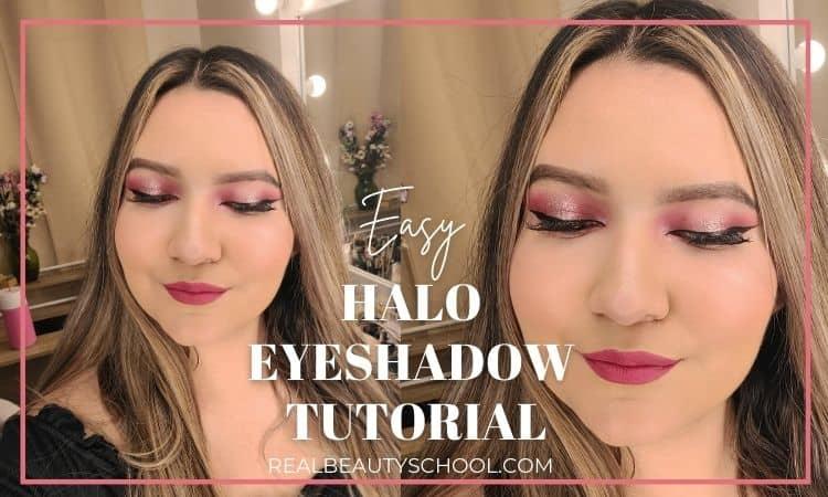 Halo eye for hooded eyes