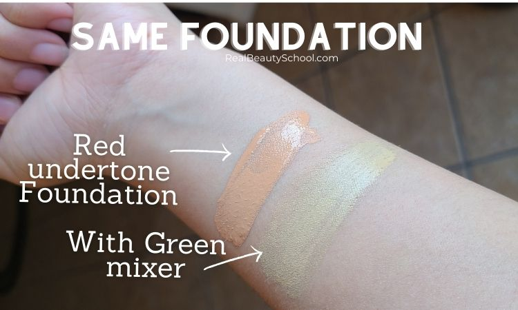 How to fix red undertone foundation how to fix foundation that is too red
