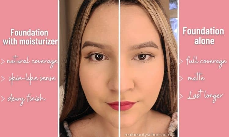 how to mix foundation with moisturizer, mixing foundation with moisturizer