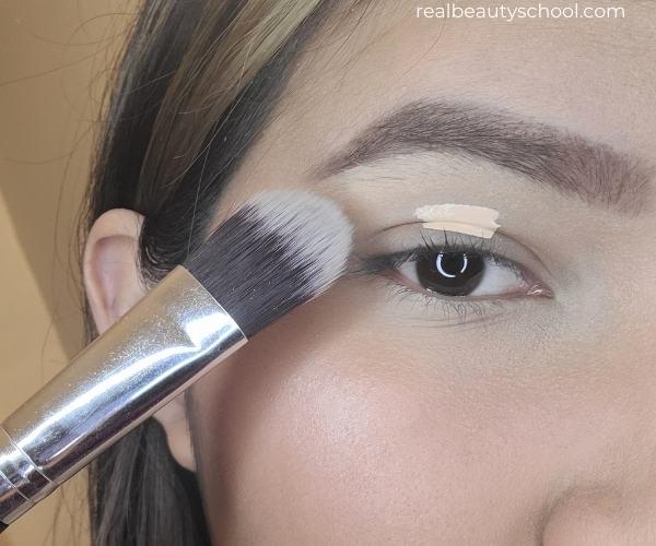 Everyday eyeshadow makeup look step by step
