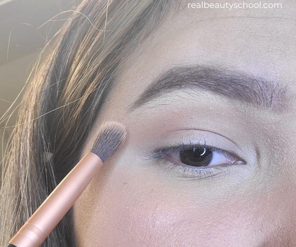Everyday eyeshadow makeup look step by step tutorial