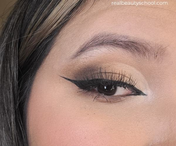 Soft glam half cut creas eyeshadow tutorial with pictures for beginners