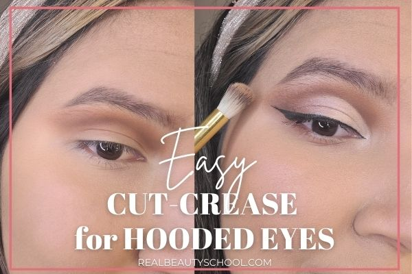 cut crease hooded eyes
