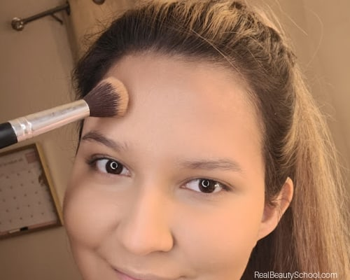 Smaller forehead naturally, how to contour your forehead to make it look smaller