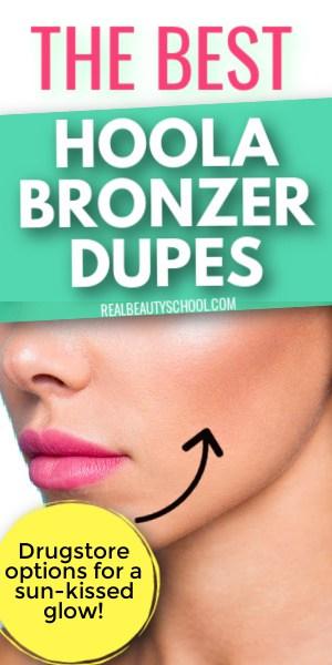 best drugstore bronzer and hoola bronzer dupes