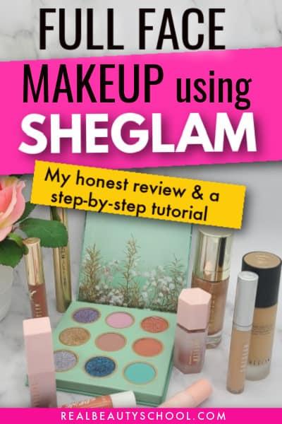 sheglam makeup review, foundation review, sheglam liquid blush review