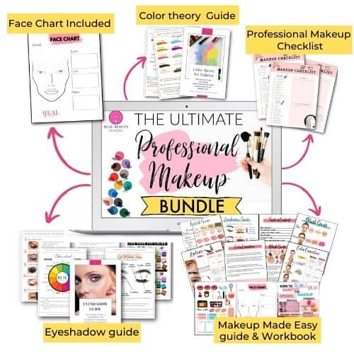 Real beauty school professional makeup ebook bundle