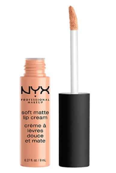NYX professional makeup soft matte lip cream nude drugsotre lisptick