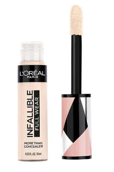 Infallible full wear concealer for cutting the crease