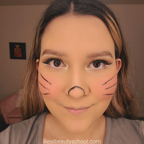 Easy minnie mouse makeup step by step tutorial