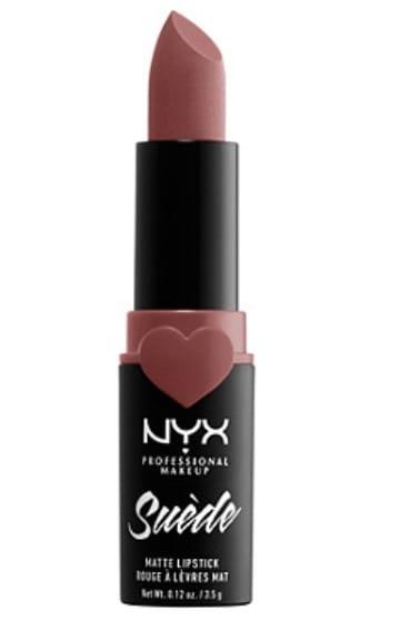 NYX professional makeup nude matte drugstore lisptick