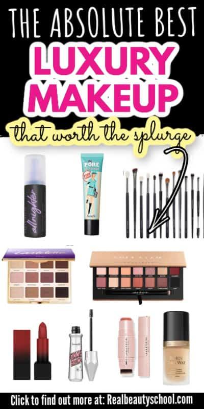 best high end makeup foundation, best high end setting spray, best high end primer, best high end makeup brushes, best high end concealer