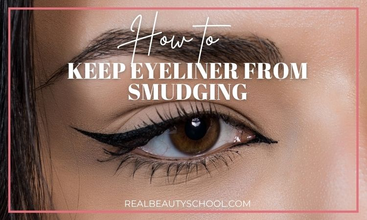 how to stop eyeliner from smearing